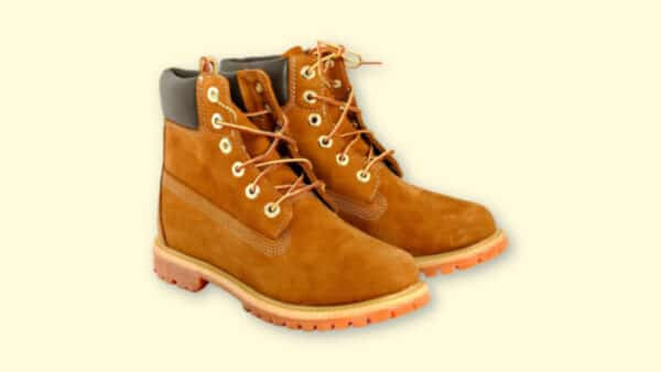Boots Like Timberlands  Timberlands Lookalikes on Blank Yellow Background