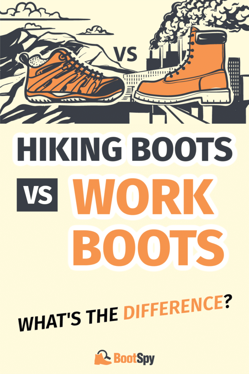 Hiking Boots vs Work Boots: What's the Difference?