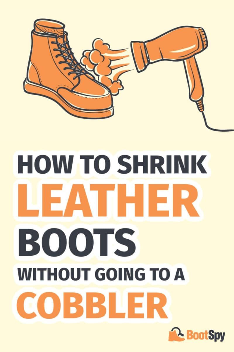 How to Shrink Leather Boots Without Going to A Cobbler