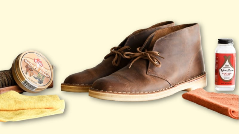 How to Clean Clarks Desert Boots