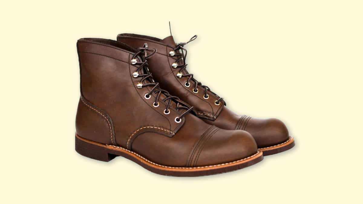 Red Wing Iron Ranger Review Product Shot on Plain Background