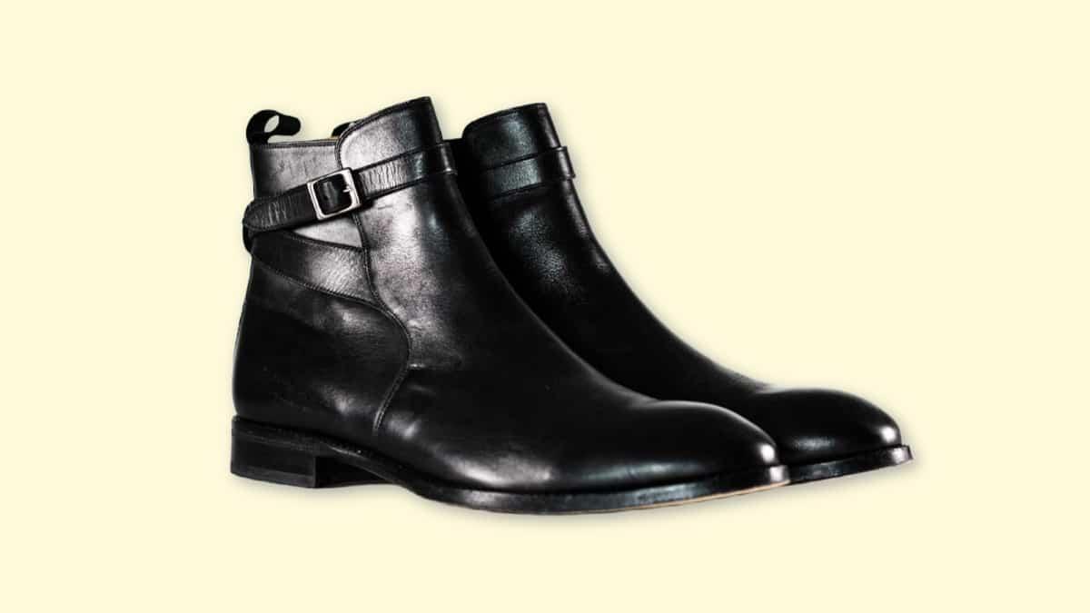 Beckett Simonon Douglas Jodhpur Review  Black Beckett Simonon Douglas Boots on Plain Background