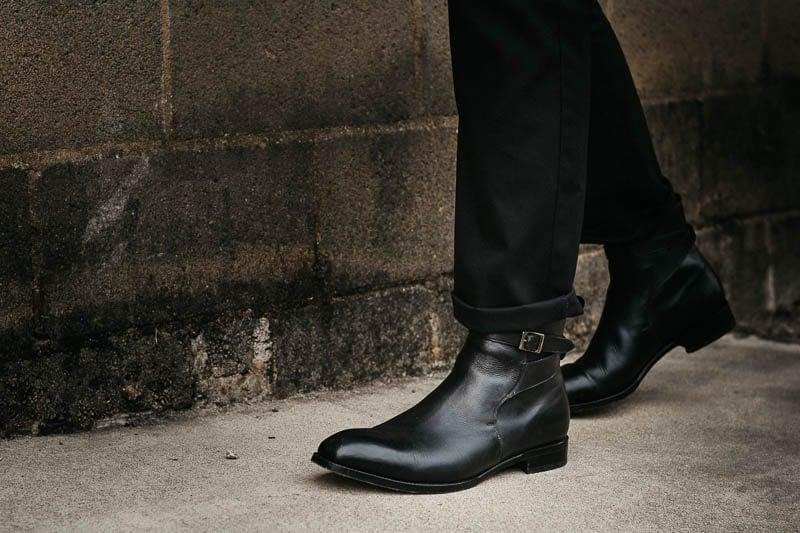 closeup beckett simonon douglas jodhpur boot
