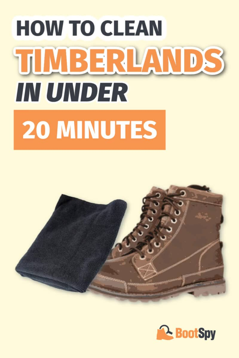 How to Clean Timberlands in Under 20 Minutes