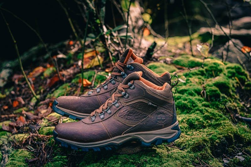 Timberland Mt. Maddsen Hiking Boots Outside Side On