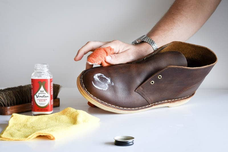 how to clean clarks desert boots 11