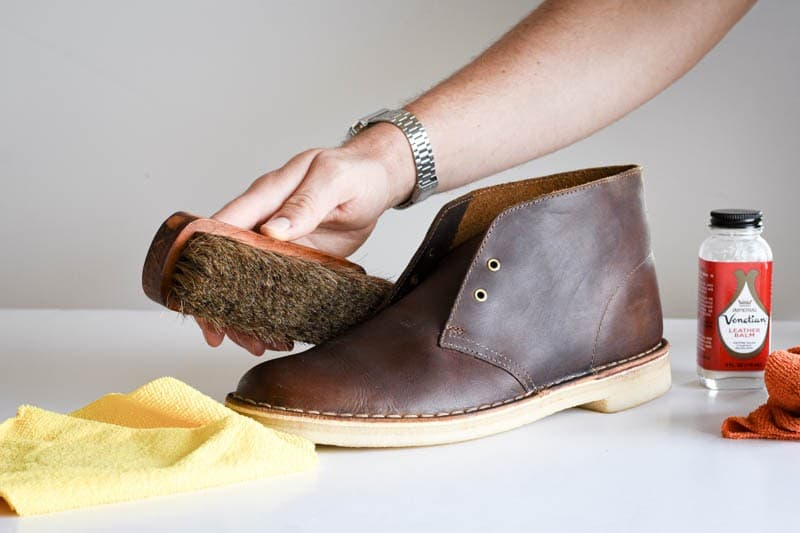how to clean clarks desert boots 14
