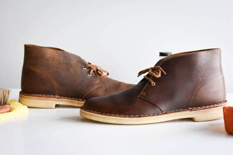 how to clean clarks desert boots 15