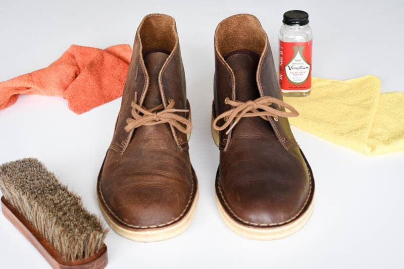 how to clean clarks desert boots 19