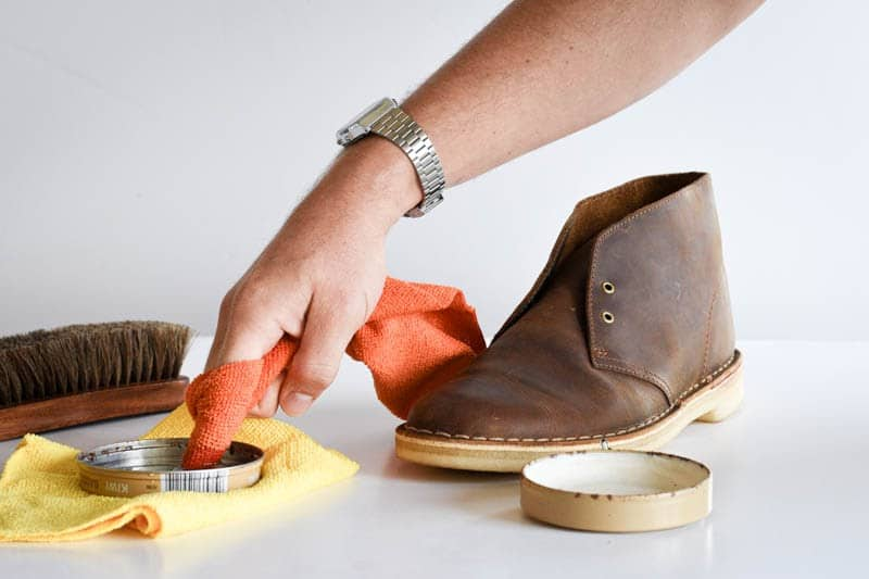 how to clean clarks desert boots 5
