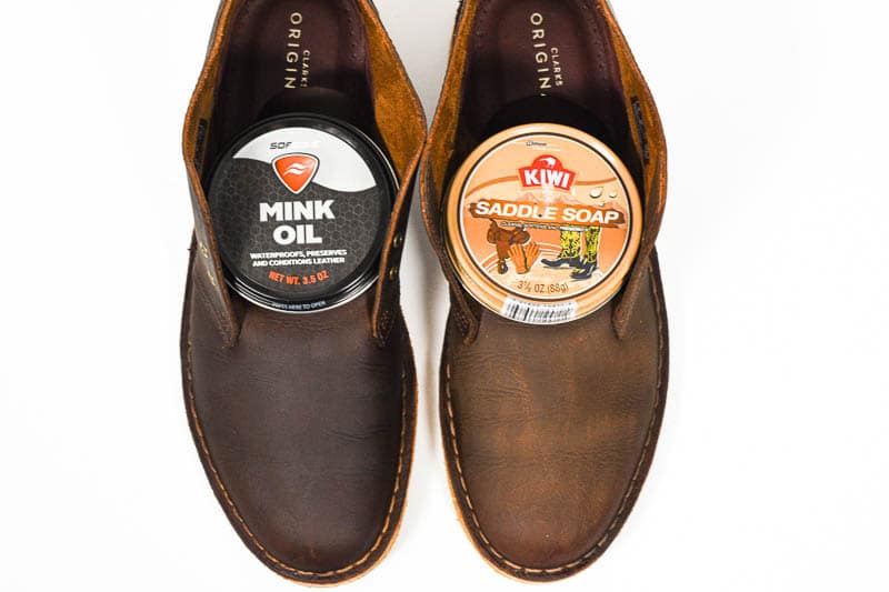the difference betwee saddle soap and mink oil