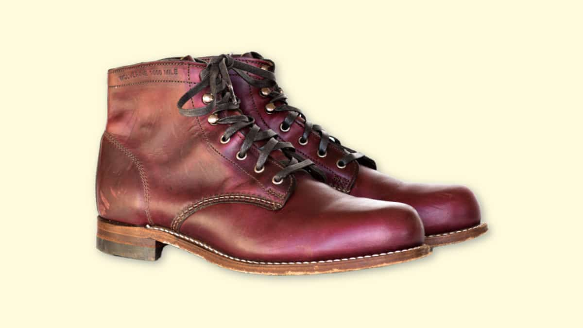 Wolverine 1000 Mile Review  Pair of Wolverine 1000 Mile Boots in Cordovan No. 8