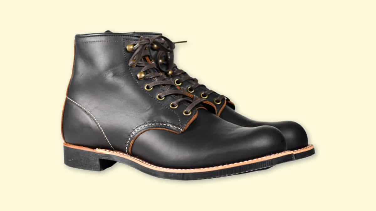Red Wing Blacksmith Review  Product Shot on Plain Background