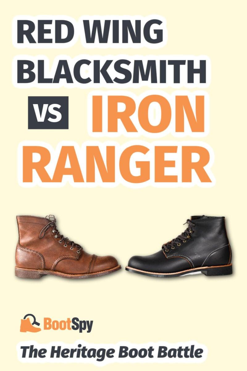 Red Wing Blacksmith vs Iron Ranger: The Heritage Boot Battle