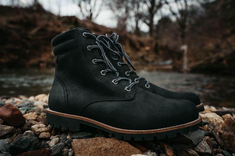 Kodiak Boots black magog closeup