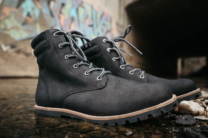 Kodiak Boots magog closeup against graffiti