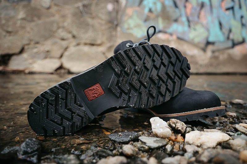Kodiak Boots magog rubber sole in water