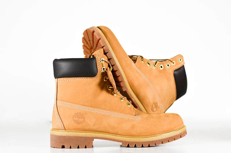 Timberland premium boots stacked 1