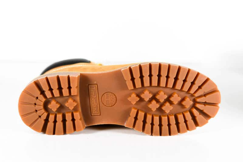 Timberland premium sole side view