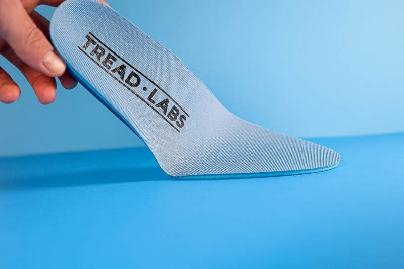Tread Labs pace insole footbed bent
