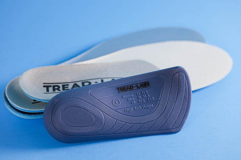 Tread Labs pace insole with footbeds