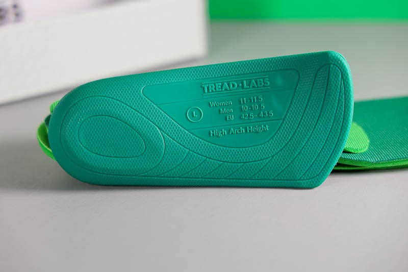 Tread Labs ramble hard insole