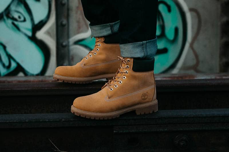 timberland boots with ankle cuffed 1