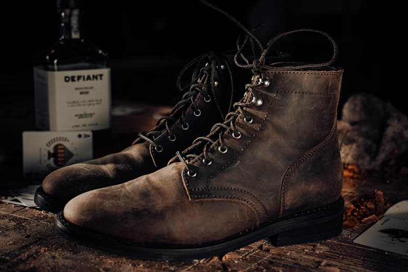 Thursday President rugged and resilient tobacco leather