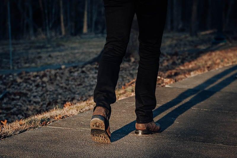 Thursday President sole on foot