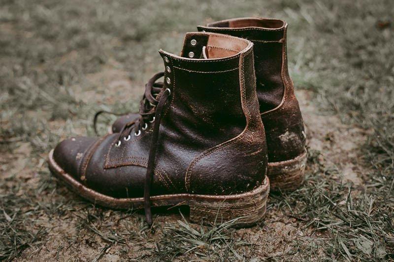 Thursday Boots Logger in mud