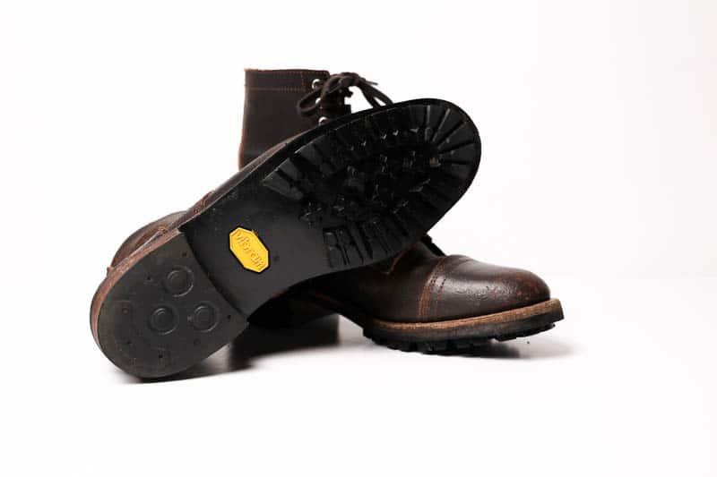 Thursday Boots Logger vibram fighter rubber lug sole