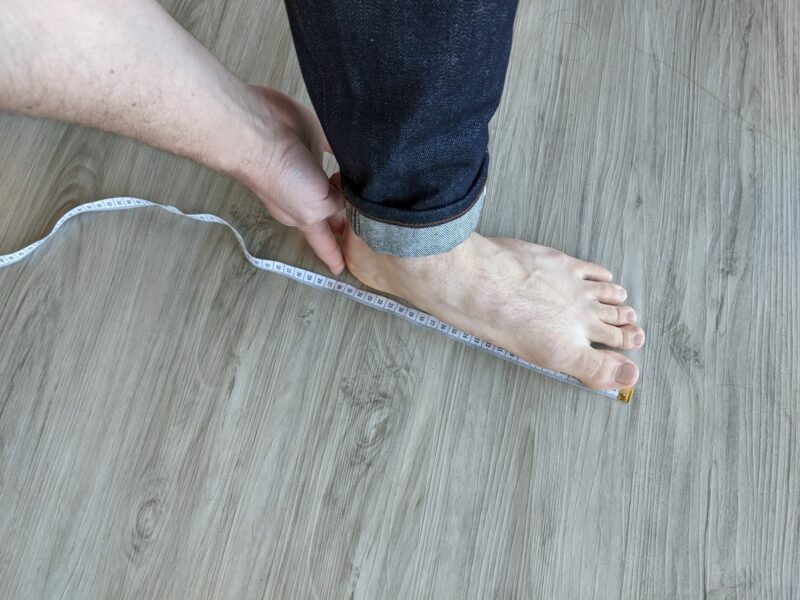 how to measure your foot for boots