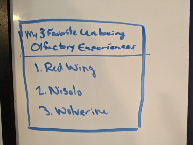 top 3 olfactory boot experiences