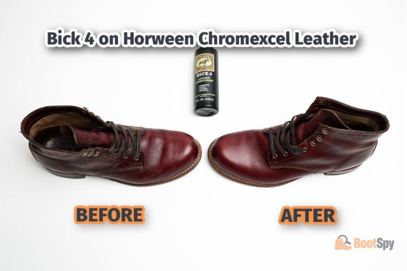 Bick 4 on Horween Chromexcel Leather