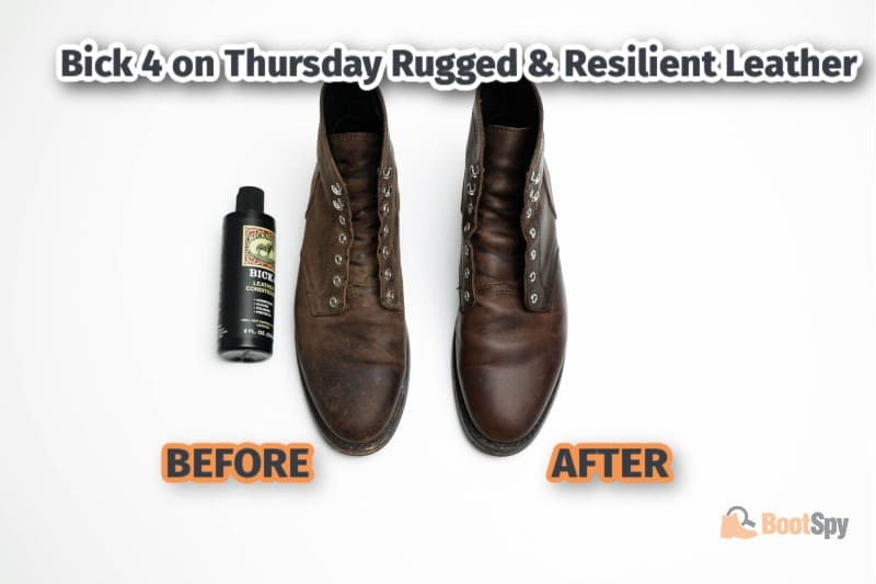 Bick 4 on Thursday Boots Rugged and Resilient Leather
