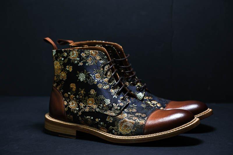 Taft Jack boot on black background