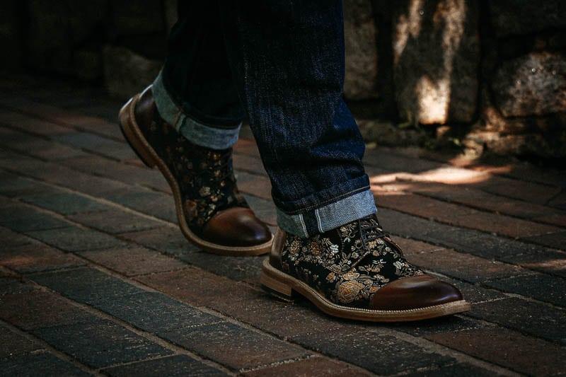Taft Jack boot while walking