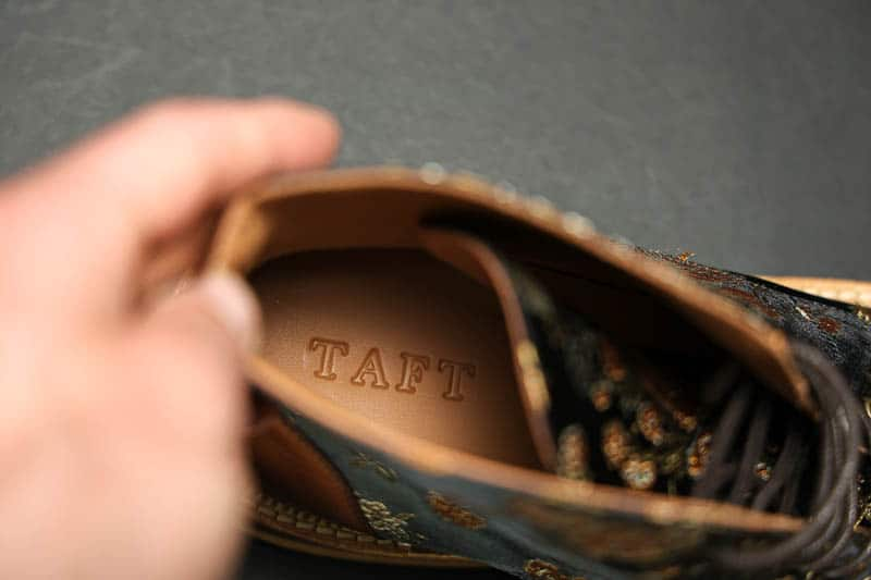 Taft Jack leather lined insole