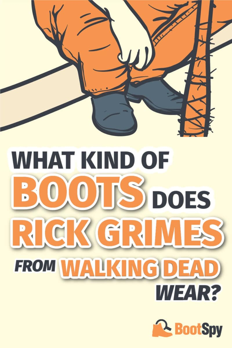 Rick Grimes Boots: What Kind of Boots Does He Wear?