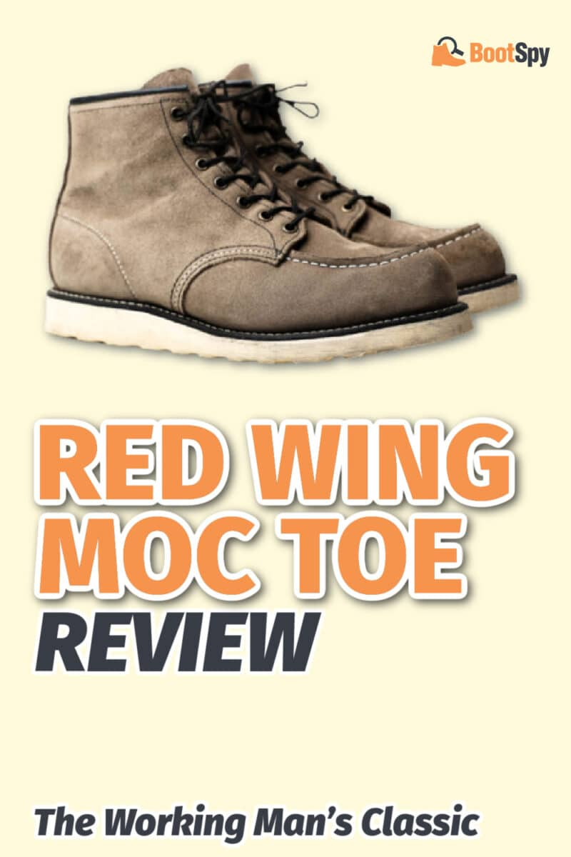 Red Wing Moc Toe Review: The Working Man's Classic