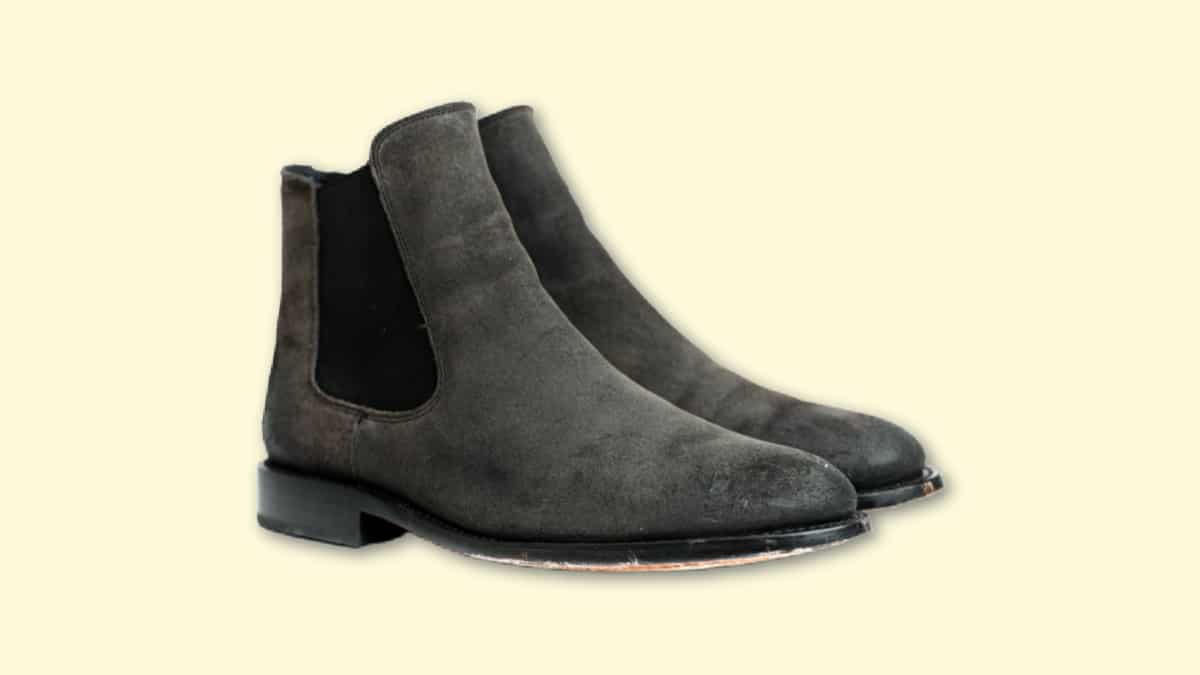Thursday Boots Cavalier Review Thursday Cavalier in Shadow Grey on Blank Background