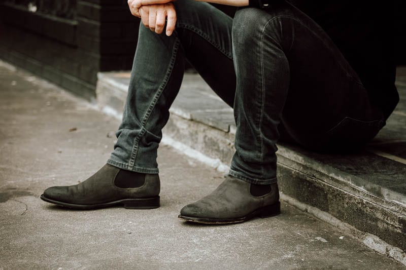 Thursday Boots Cavalier grey suede