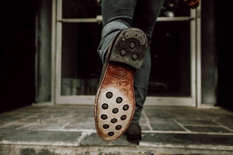 Thursday Boots Cavalier leather sole detail