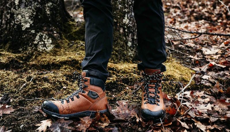 Vasque St Elias Hiking Boot in woods