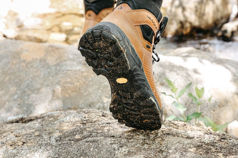 Vasque St Elias Hiking Boot sole detail
