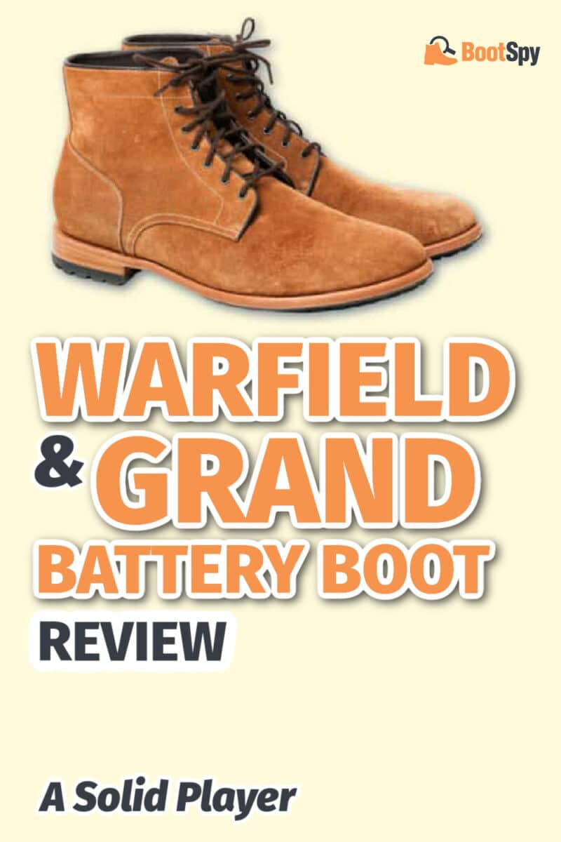 Warfield & Grand Battery Boot Review: A Solid Player