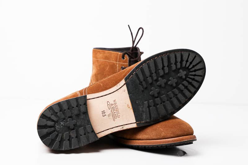 Warfield and Grand battery boot lug rubber sole 1