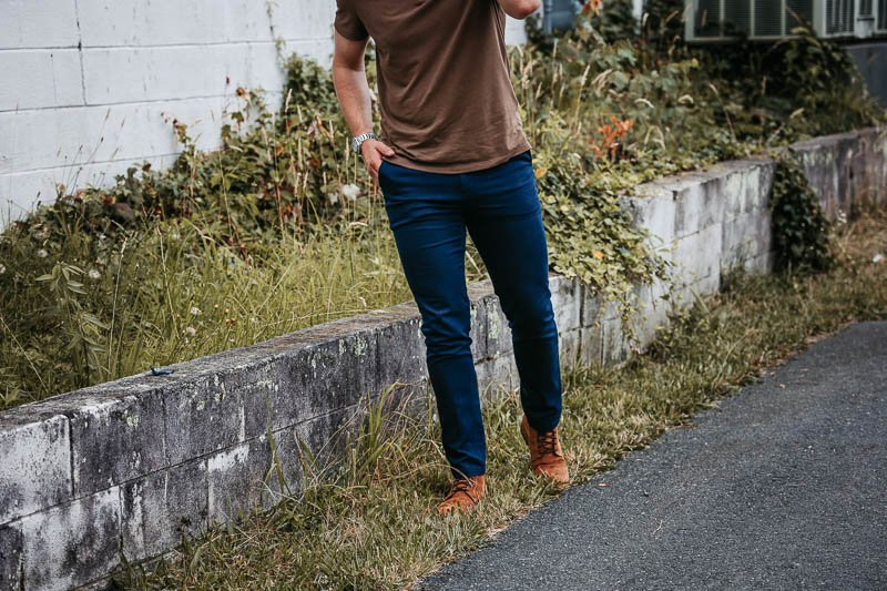 Warfield and Grand suede boots in wheat 1