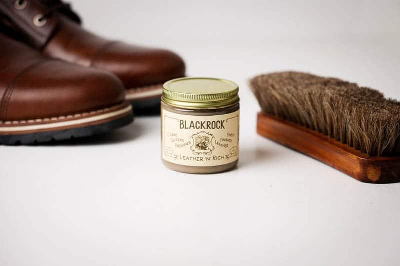 Blackrock leather n rich