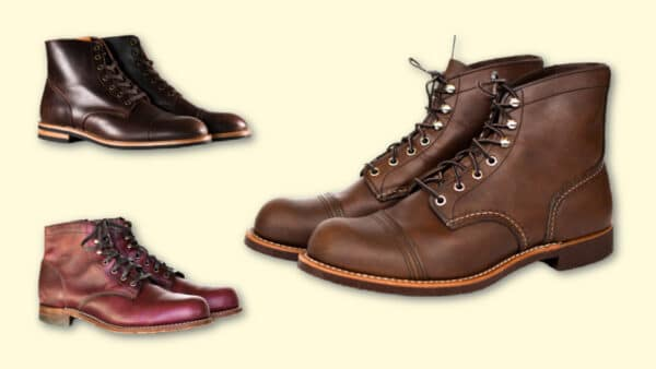 Boots Like Red Wing Iron Ranger Red Wing Alternatives Oliver Cabell S B 1 and Wolverine 1000 Mile next to Iron Ranger